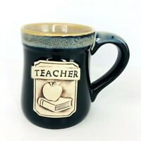 Teacher Coffee Cup Mug Burton Burton Porcelain Book Apple Cup Gift