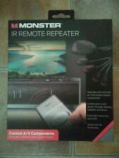 Monster IR Remote Repeater Universal Remote w/Extended Range(25')Up to 4 Devices