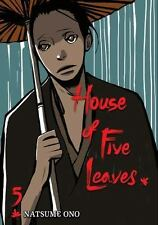 Viz Signature House of Five Leaves Vol. 5 Manga TPB Book 2011 New