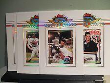 1992-93 Topps Stadium Club 12 Card Master Photo Set, Griffey, Puckett, Gwynn...