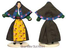 ITALIAN FOLK COSTUME DOLL - Sardinia region - Italy regional ethnic dress shawl