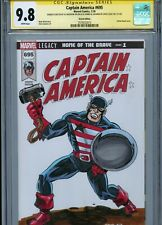 US AGENT Sketch cover art by AL MILGROM CGC SS 9.8 Avengers Captain America