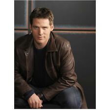 Ben Browder Stargate SG-1 in Brown Leather Jacket 8 x 10 inch photo