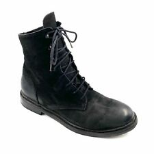 The Last Conspiracy Goodyear Lace up Waxed Suede Combat Boots EU43 US10