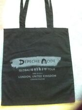 DEPECHE MODE TOTE BAG LONDON VIP SPIRIT TOUR OFFICIAL MERCH COLLECTORS NEW RARE
