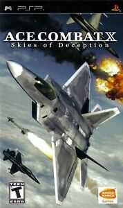 Ace Combat X: Skies Of Deception  PSP Game Only