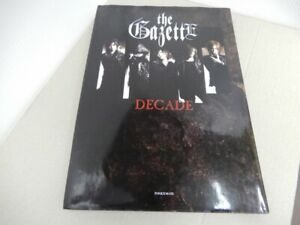 The GazettE Decade Photo Collection Book First Edition 2013 USED