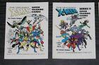1990 X-Men Covers Series I & II Header/Topper Cards + Bonus Best of Byrne Marvel