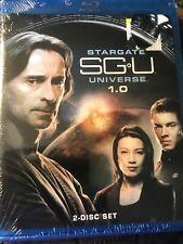 STARGATE SGU UNIVERSE 1.0 (2-Disc Blu-ray) NEW