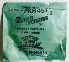 NOS GS PKH46 1/2 Flexo Lo-dome Pocket Watch Crystal Germanow Simon Mach. Company
