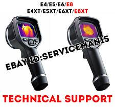 TECHNICAL SUPPORT FOR THERMAL INFRARED CAMERAS E4 E5 E6 E8 SERVICE FLIR UPDATE