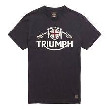 GENUINE Triumph Motorcycles Hale Bobber Triumph Logo Print T-Shirt - Black