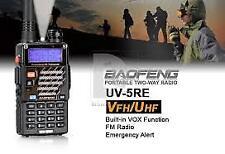 Baofeng UV-5RE Walkie Talkie Dual Band Portable 2 Way Radio