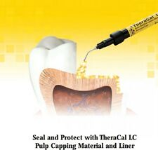 TheraCal LC Pulp Protectant/Liner, 1 (1g) Syringe, Bisco  MSD calcium - USA Made