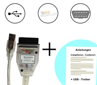 MaxDia Diag2+ OBD2 Interface (Kabel) für BMW-Fahrzeuge (ab 2007) - OHNE SOFTWARE