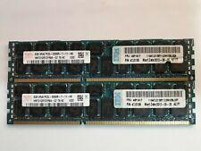 Lote 2x8GB (16GB) RAM Hynix DDR3 ECC 1066MHz 4Rx8 PC3L-8500R para Servidor