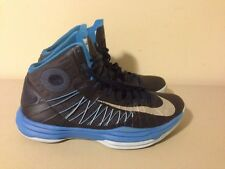 Nike Hyperdunk Sport Pack With Nike Basketball Black Blue 524948 400 Size 8.5