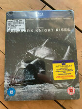 The Dark Knight Rises Steelbook blu ray plus uv