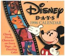 Disney Days 1996 Calendar Walt Disney Calendar