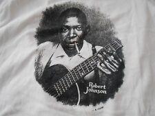 R CRUMB ORIGINAL T Shirt ROBERT JOHNSON PSYCH Art BLUES FOLK COUNTRY COMIC BOOK