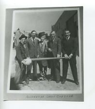 MARX BROTHERS Baseball Bat Australian Davis Cup Original 1974 London Times Photo