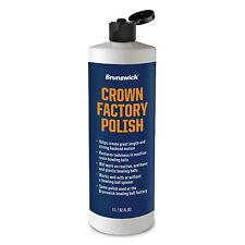 Brunswick Crown Factory Polish 32 fl oz Fast Shipping!!