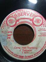 "I Roy-Point Blank / Camp Road Skanking 7"" Vinyl Single 1977"