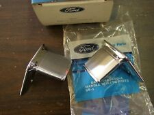 NOS OEM Ford 1976 1979 Granada + Monarch Inside Door Handles Pair 1977 1978