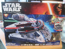 Star Wars The Force Awakens Battle Action Millennium Falcon New Sealed Chewbacca