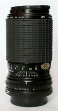 Sigma 80-200 f4.5-5.6 zoom lens in Canon FD fit.