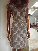New Boden soft mauve stretch jersey dress in 2 lengths reg and long