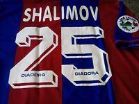 Maglia Shalimov #25 Bologna 1996-97 Shirt Jersey Trikot Maillot serie A