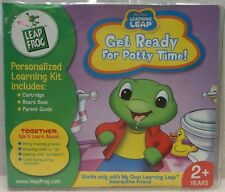 NEW in Sealed Package Leap Frog - Get Ready for Potty Time - Cartridge & Book