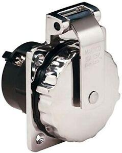 Marinco -6371EL * Marinco 50 Amp 125 V Shore Power Inlet sale $109.99