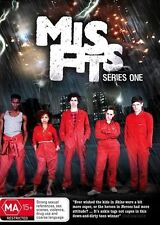 Misfits : Series 1 (DVD, 2010, 2-Disc Set)  New, ExRetail Stock, Genuine D73