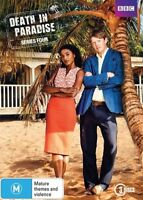 Death In Paradise : Series 4 (DVD, 3-Disc Set) NEW