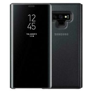 Samsung Galaxy Note 9 Clear View Standing Phone Case Black (Official)