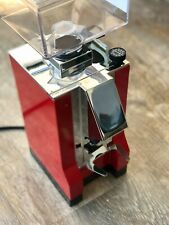 Eureka Mignon Silenzio 50 Espressomühle DELUXE - Rot mit Chrom Nase - DEMO