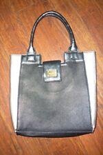 Mark black/silver tote purse,14x13x4.5