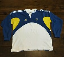 Maillot Rugby ASM CLERMONT ADIDAS Vintage Porté Taille XXL