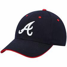 Youth Navy Atlanta Braves Money Maker Adjustable Hat