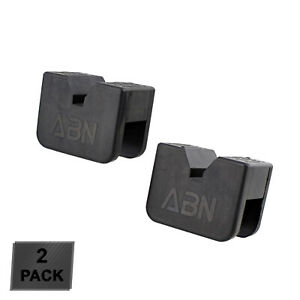 ABN Rubber Slotted Jack Stand Pads Pinch Weld Jack Adapter 2-Pack - 2 to 3 Ton
