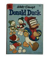 Donald Duck Walt Disney's #51 Ungraded Dell Comics Silver Age VTG Vintage