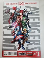 UNCANNY AVENGERS #1-4 (2013) 1ST APPEARANCE RED SKULL CLONE AS RED ONSLAUGHT!