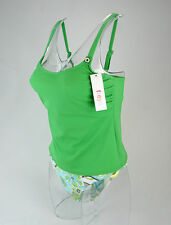 "FREYA SODA GREEN TANKINI TOP AND BRIEFS SET WITH UNDERWIRED SUPPORT 34-38"" C-DD"