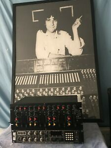 Martin Hannett Joy Division Producer 6 Channel drum and echo sub mixer late70s