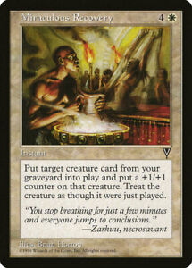 MTG NM Miraculous Recovery - VIS Visions