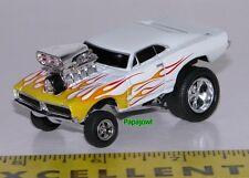 MUSCLE MACHINES Custom 1969 Dodge Charger 69 Hot Rod hemi Mopar 1:64 Scale