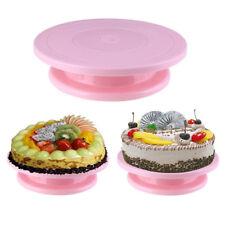 14cm DIY Pan Baking Tool Cake Plate Turntable Rotating Anti-skid Cake Stand bx
