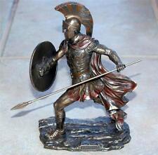 VERONESE ART GREEK TROJAN Warrior Hoplite ACHILLES STATUE FIGURE FIGURINE New